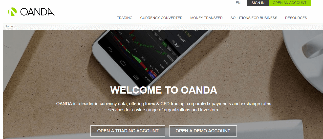 OANDA Scam Reviews