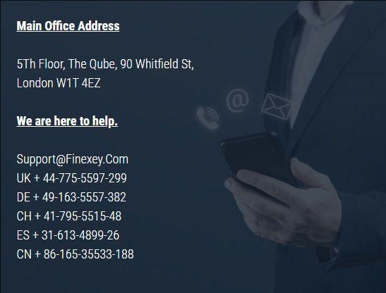 Contact finexey
